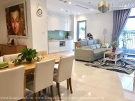Vinhome Central Park 4 bedrooms apartment with luxury design
