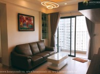 Masteri Thao Dien 2-bedrooms apartment luxury design and high floor