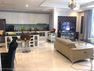 3 bedrooms apartment with beautiful decorated in Vinhomes Central Park