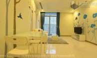 Vinhome Central Park 2 beds apartment with high floor