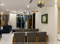 Classy high-storey 1 bedrooms apartment in Vinhome Central Park