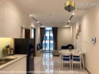 Highly-elegant and luxurious 1 bedrooms apartment in Vinhome Central Park