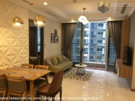 Aesthetic 2 bedrooms apartment in Vinhome Central