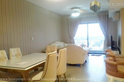 3 bedroom apartment for rent in Masteri, river view