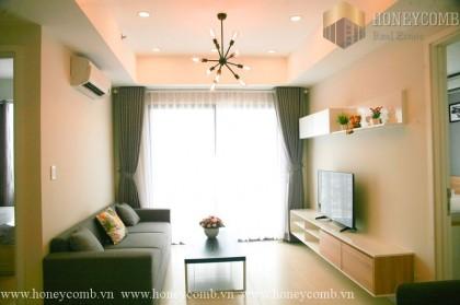 Convenient eclectic 2 bedrooms in Masteri Thao Dien for rent