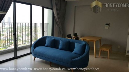 Masteri Thao Dien 2 beds apartment with balcony large and high floor