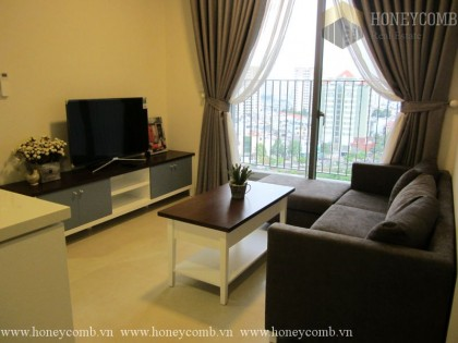 Masteri Thao Dien 2 beds apartment with open kitchen for rent