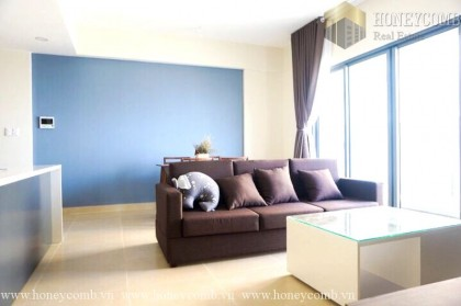 Apartment for rent 2 bedroom in Masteri, pool view
