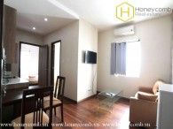 Serviced apartment with full furnished 1 bedroom