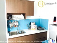 Simple 1 bedroom in Serviced apartment