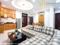 Căn hộ dịch vụ 3 phòng ngủ với đầy đủ nội thất ấm cúng cần cho thuê