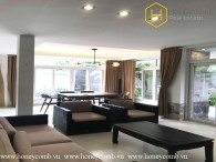 Spacious house for rent in Thao Dien - 4 bedrooms