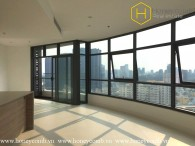 Unfurnished 3 bedrooms apartment with nice view in City Garden