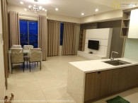 Lush contemporary 2 beds apartment in Masteri Thao Dien