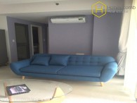 Simple furnished 2 bedroom aparmtent in Masteri Thao Dien