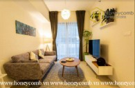 Fully furnished 1 bedrooms apartment with cool colored design in Gateway Thao Dien