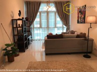 Fully furnished 2 bedrooms apartment with cool colored design in The Vista An Phu