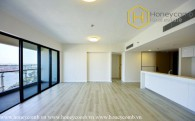 Unfurnished 3 bedrooms with river view and high floor in The Gateway Thao Dien
