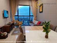 Căn hộ cao cấp 2 phòng ngủ tại The Ascent Thảo Điền cho thuê