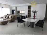 Friendly designed beautiful 3 bedrooms apartment in City Garden