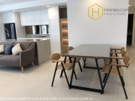 Newly furnished 3 bedrooms apartment in City Garden