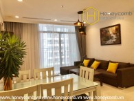 Good furniture with 1 bedrooms apartment in Vinhomes Central Park