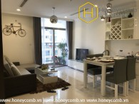 Luxury 1 bedroom apartment in Vinhomes Central Park for rent