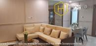 Luxury furniture with 2 bedrooms apartment in Landmark 81