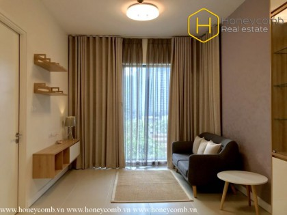 Classy high-storey 1 bedrooms apartment in The GatewayThao Dien