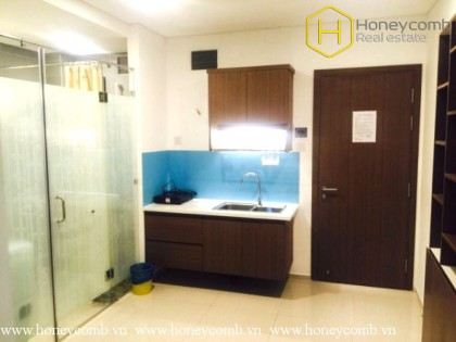 Serviced 1 bedroom apartment with nice view