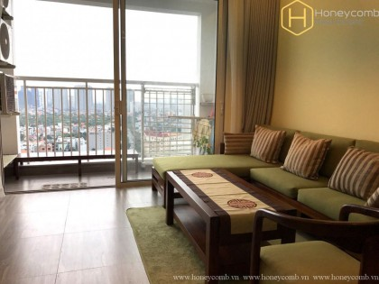 Fantastic city view with a fully furnished apartment in Tropic Garden
