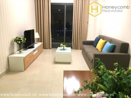 Masteri Thao Dien 2 beds apartment with middle floor for rent