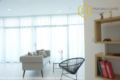 Open space contemporary-style 2 bedrooms apartment in City Garden
