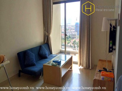 Simple furnished 1 bedroom apartment in Masteri Thao Dien for rent