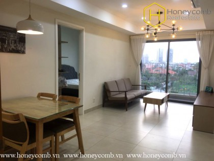 Fully furnished 2 bedroom apartment in Masteri Thao Dien for rent