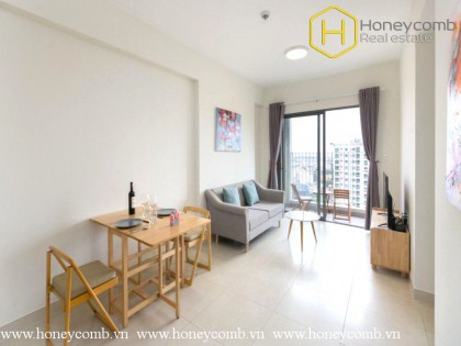 Lush contemporary 2 bedroom apartment with high floor in Masteri Thao Dien