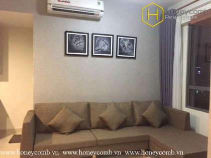 Simple 2 bedroom apartment with park view in Masteri Thao Dien