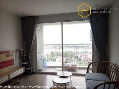 Amazing 2 beds apartment with city view in Tropic Garden
