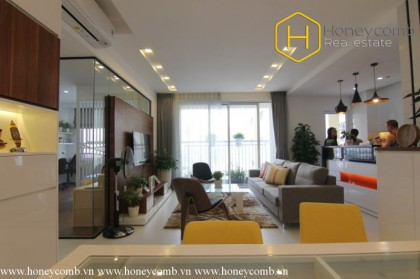 Beautiful floral decorated 3 bedrooms apartment in Tropic Garden
