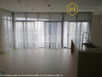 For rent 3 bedroom unfurnished and spacious space in City Garden