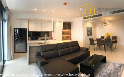 Gorgeous 3 bedroom flats and fully furnished for rent in City Garden