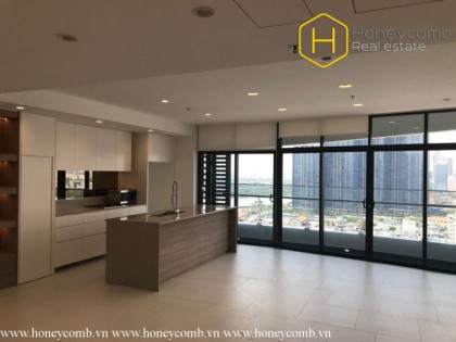 3 bedrooms for rent in City Garden with spacious space and no furniture