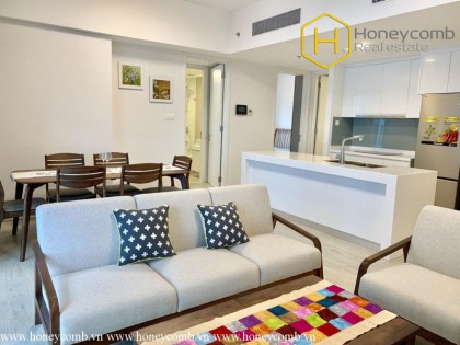 Lovely featured 2 bedroom apartment in Gateway Thao Dien