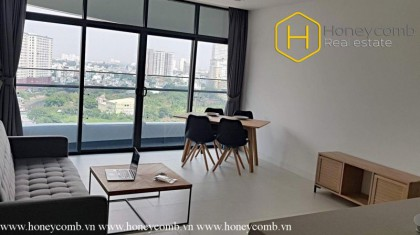 Modern 1 bedrooms apartment in City Garden with great feature
