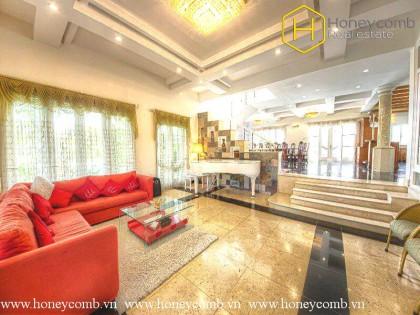 Amazing 5 bedroom in Villa Thao Dien for rent