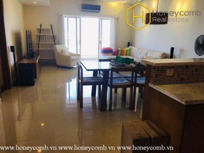 3-bedroom apartment with river view in River Garden for rent