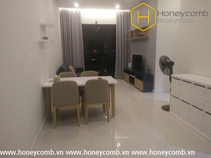 River view with two bedrooms apartment in The Ascent Thao Dien for rent