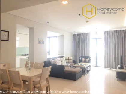 Contemporary fully furnished 3 bedrooms apartment in City Garden