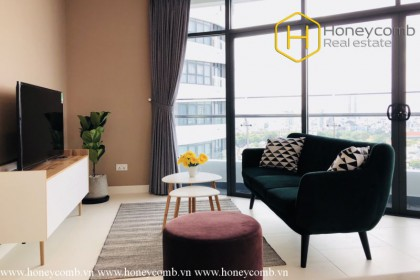 Contemporary fully furnished 2 bedroom apartment in City Garden