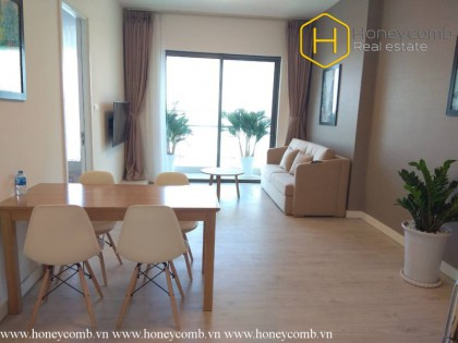 Lush contemporary 2 beds apartment in Gateway Thao Dien